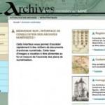 Les archives de l'Aisne sont en ligne