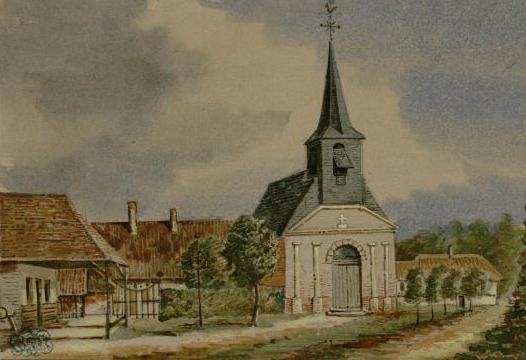 Fonds Macqueron Eglise de Ponthoile