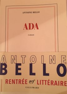 ADA par Antoine Bello