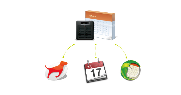 Intégrer un serveur caldav sur un NAS Synology