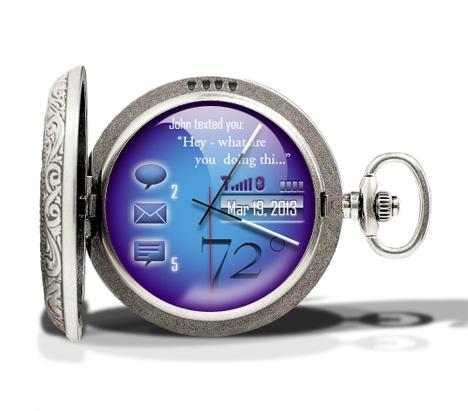 Cobalt Connected Watch : Adam Huffman