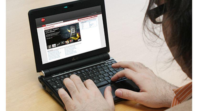 eeepc 901 : Le clavier