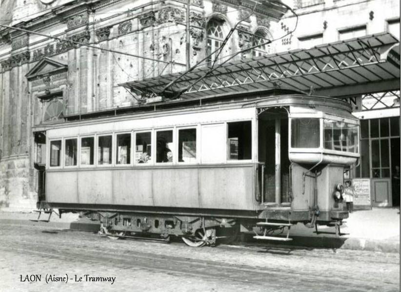 Genealogie30 : Le tramway de Laon