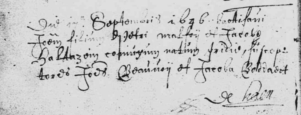 Baptême Jeanne MALFOY Audresselles