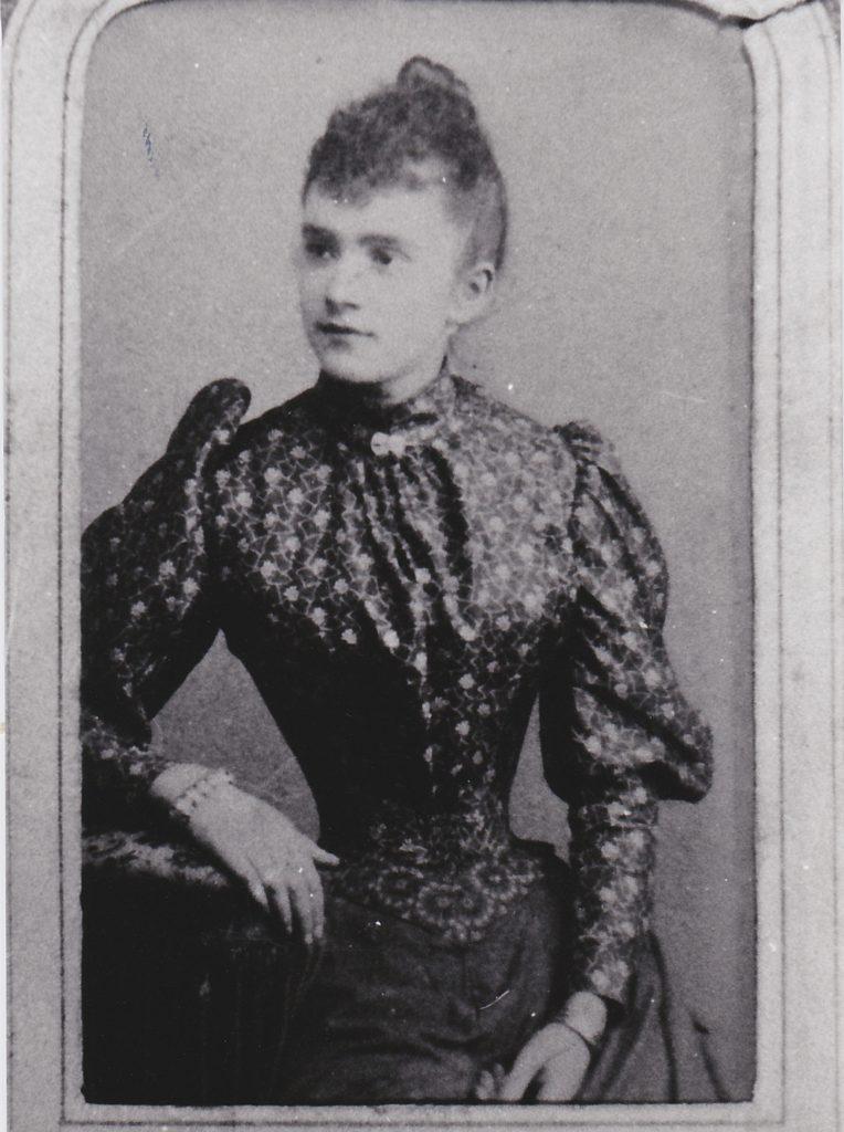 Photo de Gabrielle Maillet née à Boulogne sur Mer