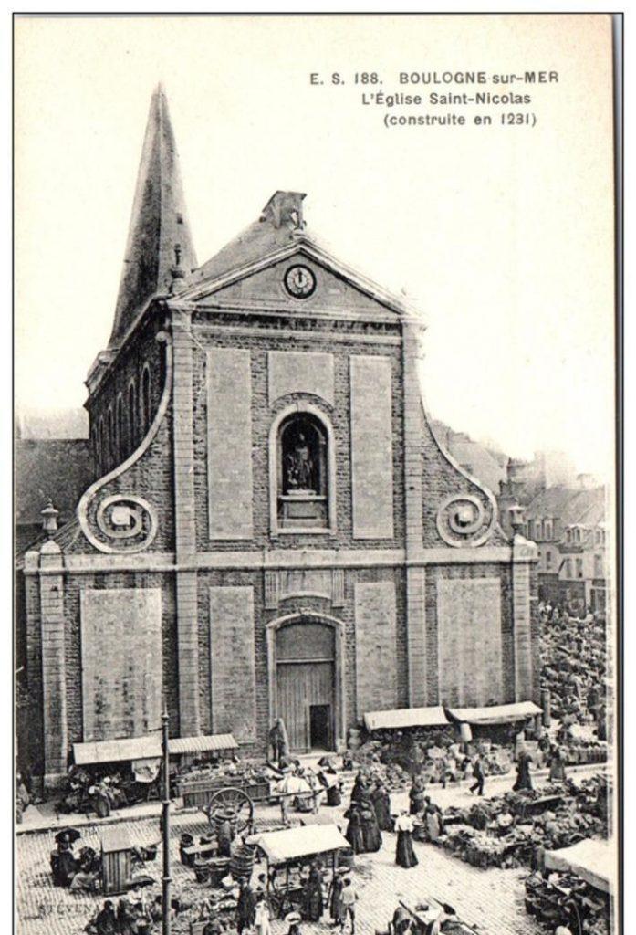 Eglise Saint Nicolas de Boulogne Sur Mer
