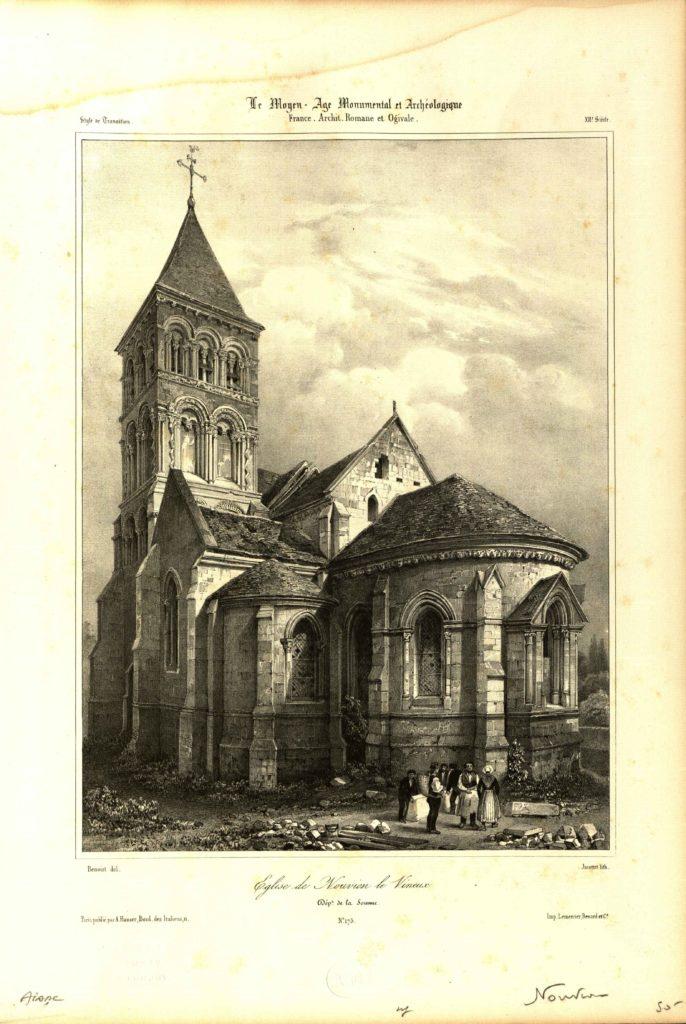 Eglise Saint Martin de Nouvion le Vineux