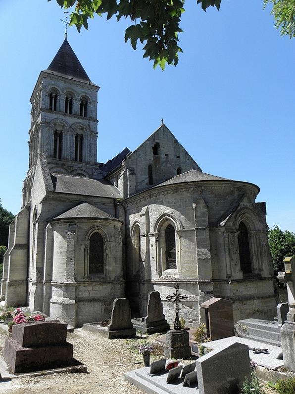 Eglise Saint Martin Nouvion le vineux