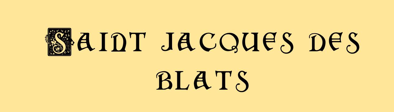 Saint Jacques des Blats