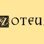 Zoteux : Z et ligne d'Arrivée